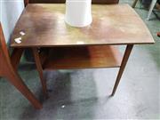 Sale 8669 - Lot 1056 - Kai Marsden Tiered Side Table