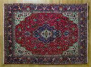 Sale 8372C - Lot 59 - A Persian Tabriz, 294 x 212cm