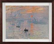 Sale 8767 - Lot 2041 - After Claude Monet Sunrise, 1872 giclee print, ed. 13/200, 35 x 43cm (frame), printed by Fairfax Media -