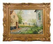 Sale 8422A - Lot 18 - Albert Neirinck Belgium 1921-2010 - Impressionist Garden 30 x 40cm