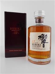 Sale 8479 - Lot 1735A - 1x Suntory Whisky 17YO Hibiki Blended Scotch Whisky - in box