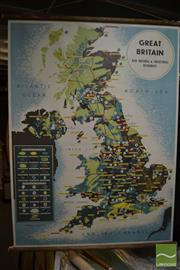 Sale 8487 - Lot 2026 - Great Britain Resources Map