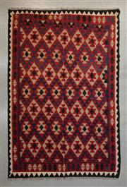 Sale 8493C - Lot 53 - Afghan Mayamana Kilim 290cm x 203cm