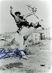 Sale 8635A - Lot 5080 - Clayton Moore (The Lone Ranger)