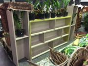 Sale 8637 - Lot 1071 - Modern Timber Four Section Wall Unit