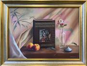 Sale 8961 - Lot 2070 - Joshua McPherson Still Life - Art Book 57 x 72cm (frame), signed lower right