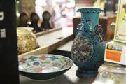 Sale 8324 - Lot 59 - Ming Style Lotus Dish & Turquoise Glaze Vase (AF)