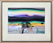 Sale 8339A - Lot 512 - Thomas Gleghorn (1925 - ) - Untitled, 1969 25 x 35cm