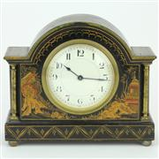 Sale 8379 - Lot 25 - Buren Swiss Chinoiserie Themed Mantle Clock