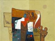 Sale 8475 - Lot 584 - Dinh Hien Nguyen (1969 - ) - Untitled, 2002 69 x 89cm