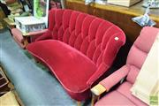 Sale 8489 - Lot 1074A - Art Deco Style Curved Lounge