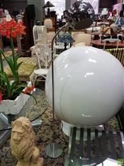Sale 8629 - Lot 1016 - Snake Necked Standard Lamp