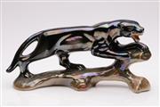 Sale 9052 - Lot 129 - A Jema Ceramic Panther (L 33cm)