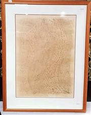 Sale 9061 - Lot 2083 - James Sharp (1905 - 1985) - Drawing, 1976 frame: 87 x 59 cm