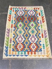 Sale 9063 - Lot 1064 - Hand Knotted Pure Wool Persian Kilim (150 x 110cm)