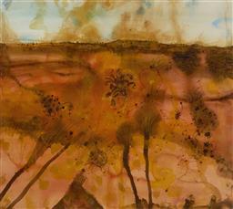 Sale 9221JM - Lot 5016 - JOHN OLSEN (1928 - ) Artists Camp archival pigment print, ed. A/P 3 71.5 x 80 cm (frame: 92 x 98 x 3 cm) signed lower right