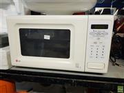 Sale 8582 - Lot 2282 - LG Microwave