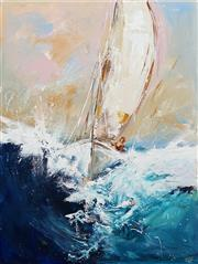 Sale 8642 - Lot 542 - Cheryl Cusick - Mainsail 120 x 90cm