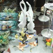 Sale 8304 - Lot 47 - Ceramic Graduated Wall Ducks