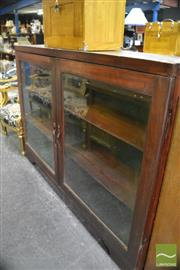 Sale 8386 - Lot 1042 - Display Bookcase with Glass Panel Doors