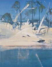 Sale 8484 - Lot 515 - Arthur Boyd (1920 - 1999) - Shoalhaven 76 x 59cm