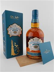 Sale 8498 - Lot 1716A - 1x Chivas Regal 12YO Mizunara Blended Scoatch Whisky - limited edition aged in Mizunara Oak, in presentation box with booklet