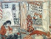 Sale 8507A - Lot 5011 - Wendy Sharpe (1960 - ) - Petit Paris Hotel 28 x 35cm