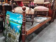 Sale 8724 - Lot 1043 - Cedar Single Bed Frame