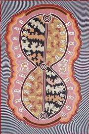 Sale 8808 - Lot 610 - Sharalyn Napanangka Poulson - Untitled, 2007 122 x 76cm