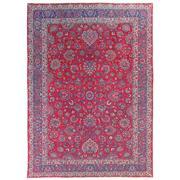 Sale 8971C - Lot 31 - Vintage Persian Mashad Rug, Circa 1950, 295x405cm, Handspun Wool & Silk Highlights