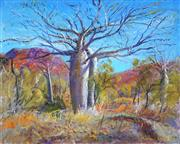 Sale 9021 - Lot 597 - Brian Seidel (1928 - ) - Twin Boabs, East Kimberly WA 41 x 52 cm (frame: 66 x 76 x 2 cm)