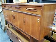 Sale 8476 - Lot 1024 - G-Plan Teak Fresco Sideboard