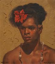 Sale 8606 - Lot 507 - Alan Douglas Baker (1914 - 1987) - Kopi Kepi 22.5 x 19.5cm