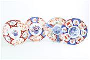 Sale 8840 - Lot 85 - A Set of 4 Imari Pattern Plates (Dia 21cm)