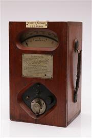 Sale 9052 - Lot 77 - Vintage NSW Td Railways Ammeter (h:31 x w:20 c d:18cm)