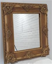 Sale 9071 - Lot 1078 - Pair of Gilt Framed Mirrors - Crack to Corner of One Mirror (67 x 58cm)
