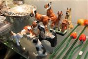 Sale 8304 - Lot 69 - Various Ceramic Dog Figures