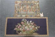 Sale 8403 - Lot 95 - Floral Tapestries (2); marked Gobelins Art, Brussels