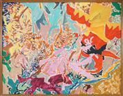Sale 8449A - Lot 536 - Philip Trusttum (1940 - ) - Totem, 1974 70 x 90.5cm