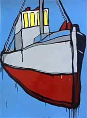 Sale 8507A - Lot 5013 - Jasper Knight (1974 - ) - Norway Tug 102.5 x 76cm