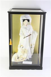 Sale 8796 - Lot 69 - Japanese Bridal doll ( 64cm x 38cm x 34cm)