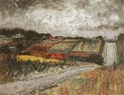 Sale 8870A - Lot 516 - George Feather Lawrence (1901 - 1981) - Market Garden, North Ryde 42.5 x 56 cm