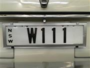 Sale 8375V - Lot 9 - NSW Custom Plate W111...