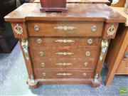 Sale 8447 - Lot 1031 - French Style Chest of 4 Drawers