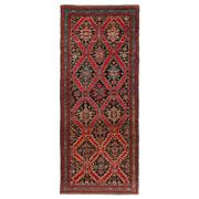 Sale 8971C - Lot 34 - Antique Caucasian Karabagh Rug, Circa 1900, 125x300cm, Handspun Wool