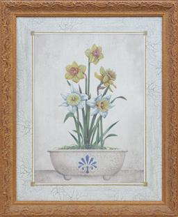 Sale 9155H - Lot 66 - A gilt framed floral print frame Size 58.5x48cm