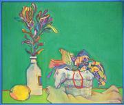 Sale 8449A - Lot 538 - David Armitage (1943 - ) - Untitled, 1977 74 x 87.5cm