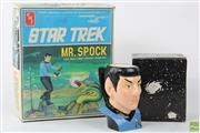 Sale 8586 - Lot 23 - Star Trek Mr Spock Figurine Hobby Kit Together With Mr Spock Mug