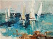 Sale 8683 - Lot 534 - Cheryl Cusick - Hugging the Shore 92 x 122cm