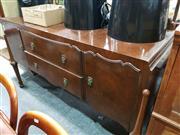 Sale 8724 - Lot 1094 - Art Deco Elevated Side Board